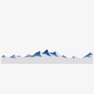 Mountain mountains hills snow. Ground clipart scenery