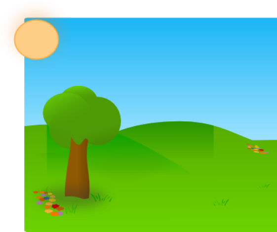 Grass blue background and. Ground clipart sky
