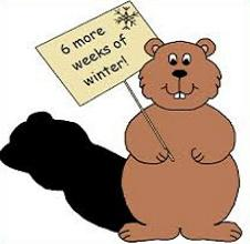 Groundhog clipart. Free day