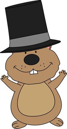 Happy day clip art. Groundhog clipart