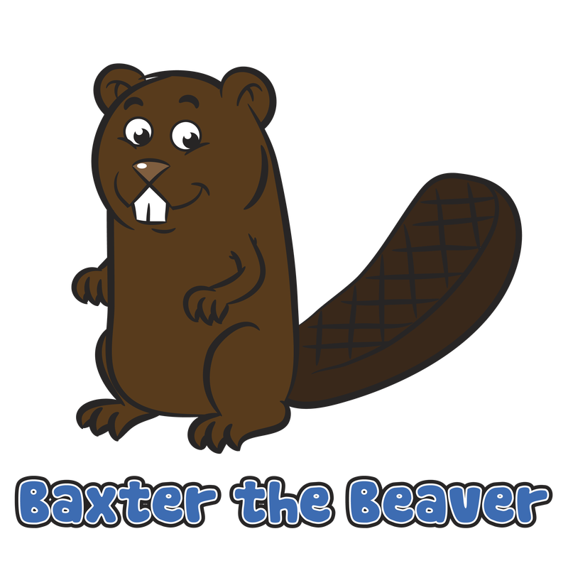 Drawing of the week. Groundhog clipart drawn