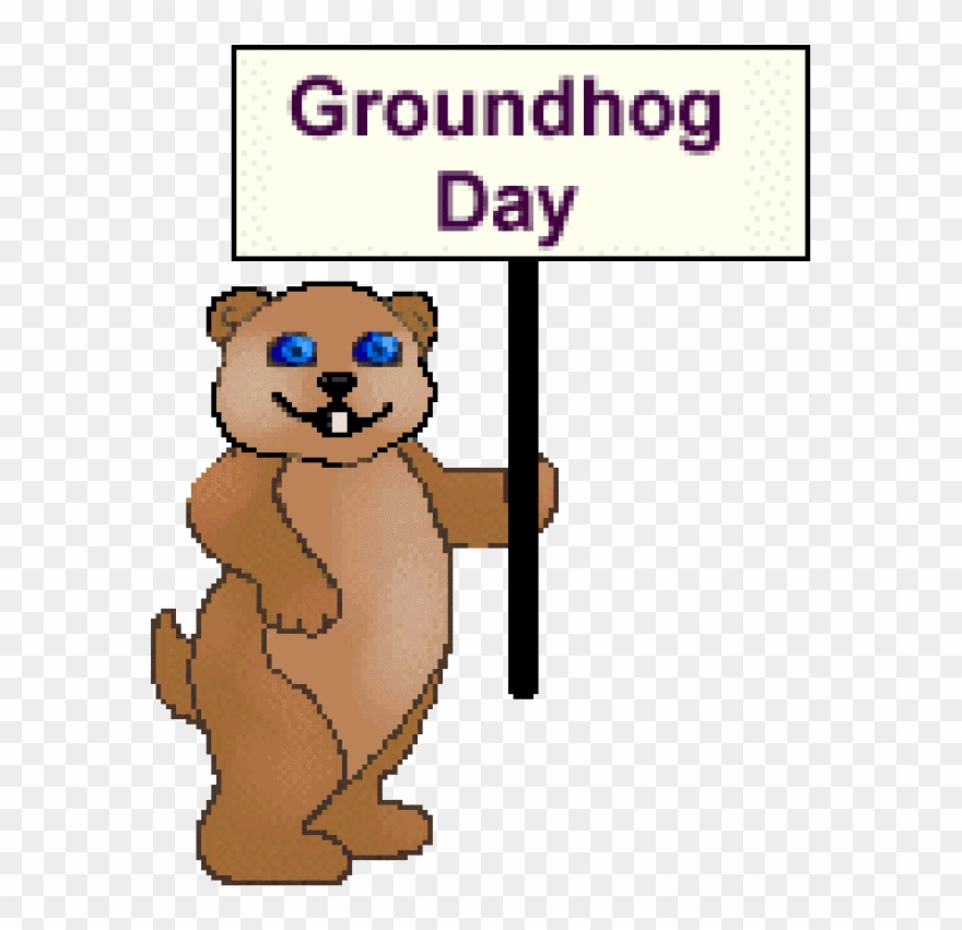 Free png download . Groundhog clipart february newsletter