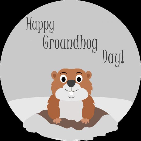 Groundhog glass