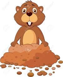 Groundhog clipart gopher. Image result for animated