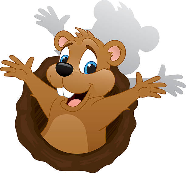 Day explore pictures clipartpost. Groundhog clipart gopher