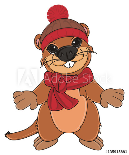 Groundhog clipart groundhog burrow. X free clip
