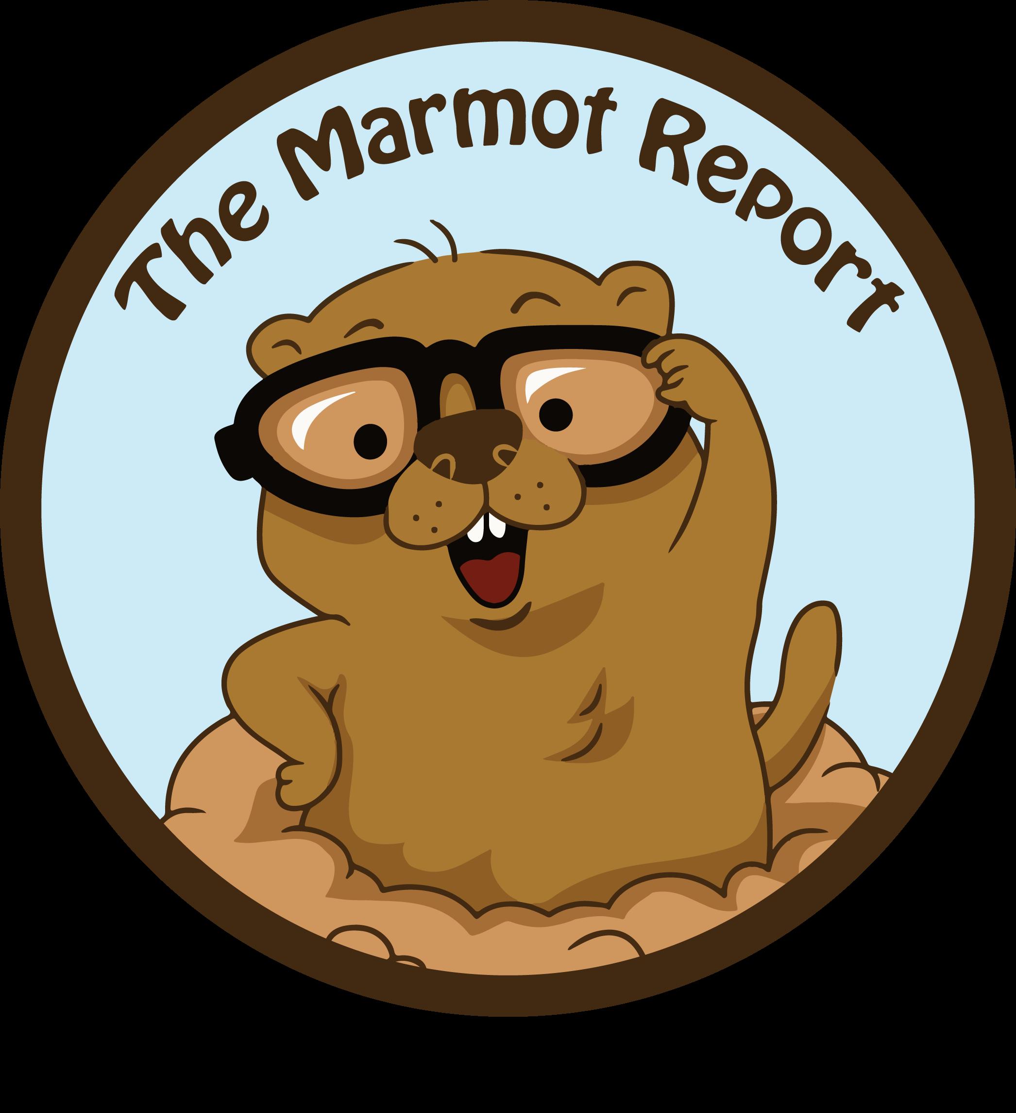 Groundhog clipart groundhog burrow. The marmot report a