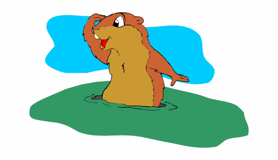 Png free stock clip. Groundhog clipart groundhog burrow