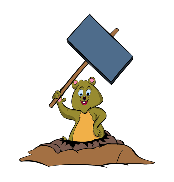 Clip art day rodent. Groundhog clipart groundhog burrow