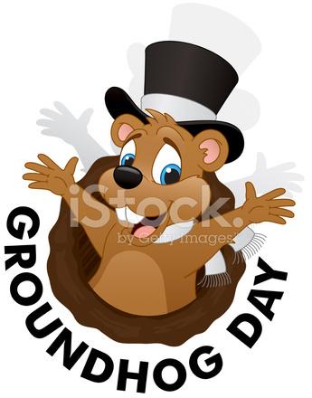 Groundhog clipart groundhog day. Download ground hogs cartoon