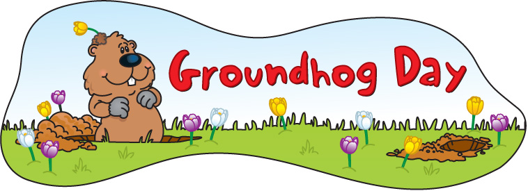 Groundhog clipart happy. Day wikiclipart