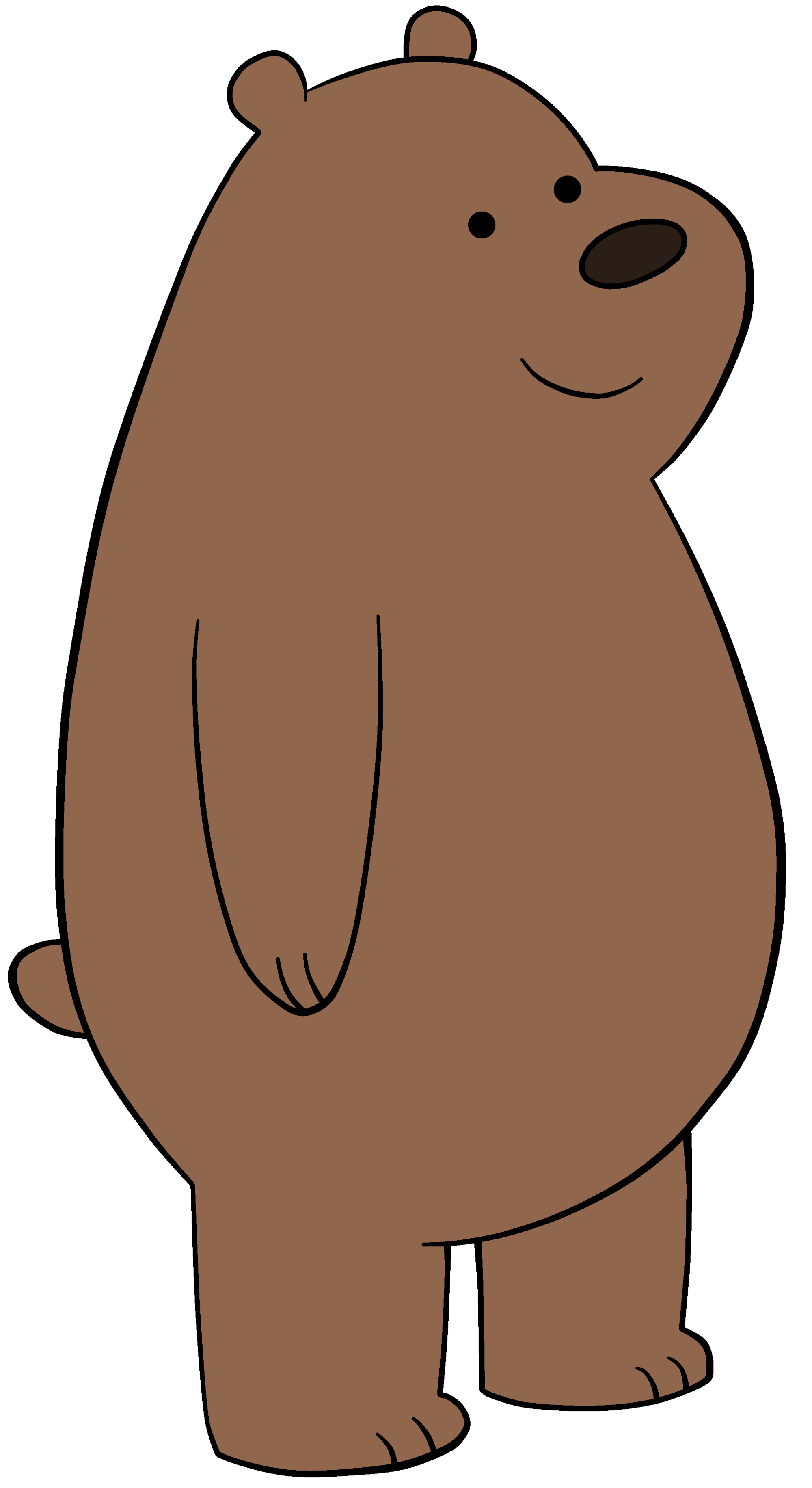 Groundhog clipart hibernating. Grizzly bear designs we