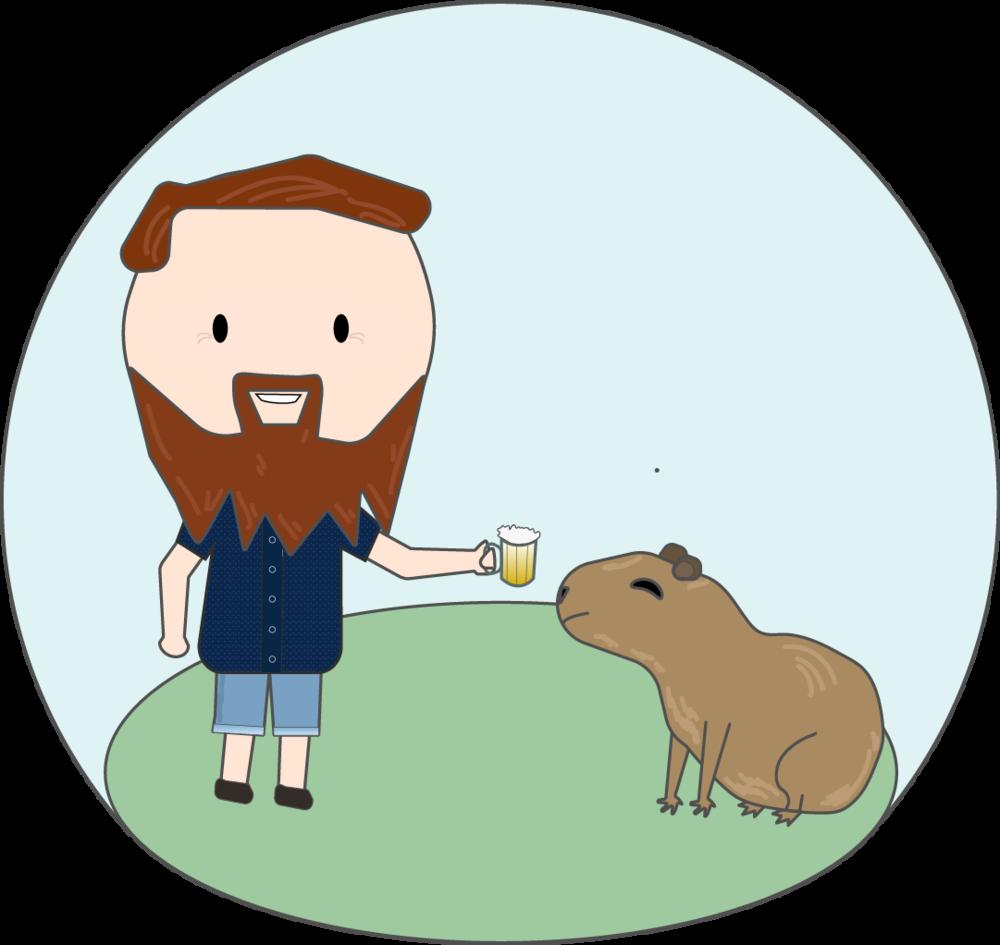 Groundhog clipart kawaii. Anitabot nick cheers capy