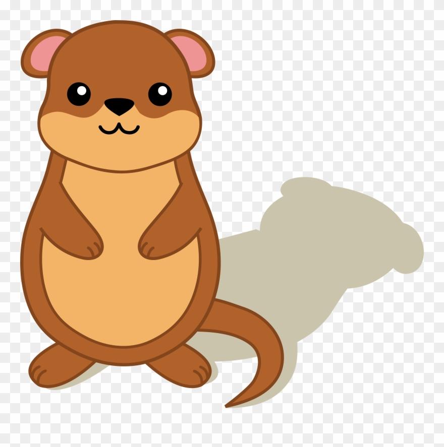 Cartoon baby transparent . Groundhog clipart mole