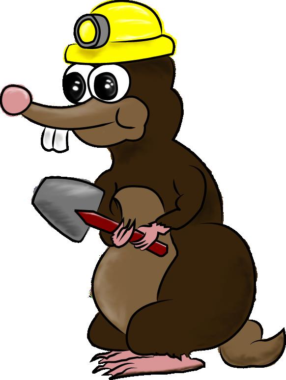 Grow gardening experience hiren. Groundhog clipart mole