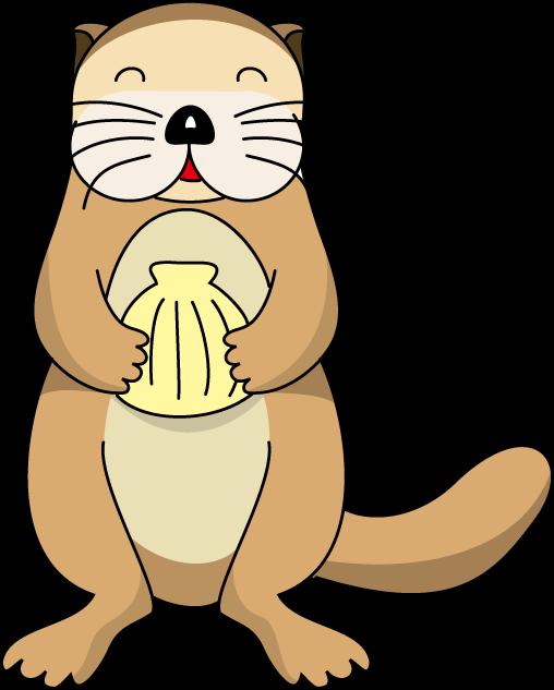 Funny otter cliparts free. Groundhog clipart preschooler
