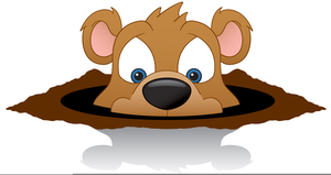 Animated free images at. Groundhog clipart presidents day