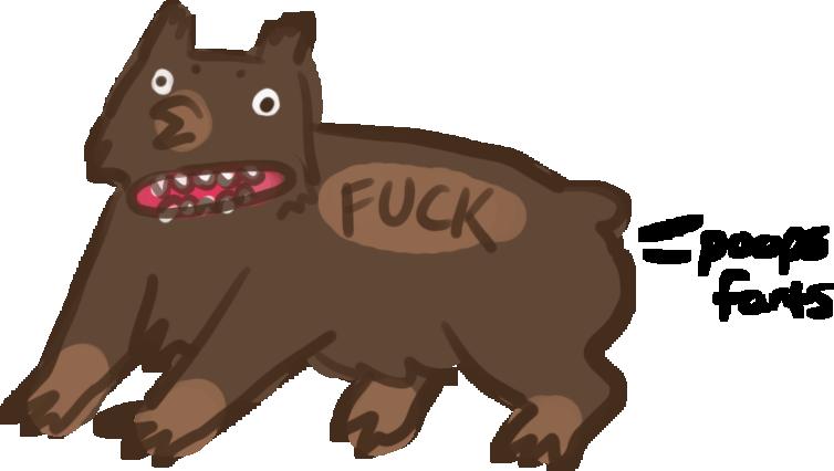 Shit owl bear originl. Groundhog clipart realistic