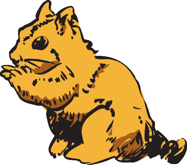 Chipmunk panda free images. Groundhog clipart realistic