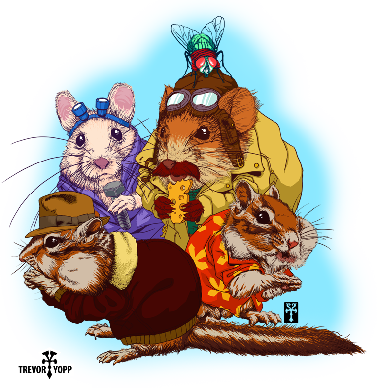 Groundhog clipart realistic. Rescue rodents trevor r