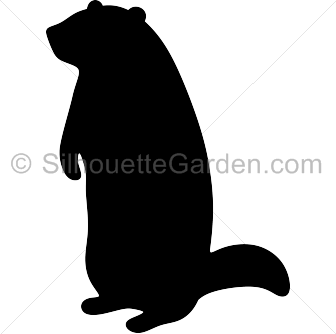 Pin by muse printables. Groundhog clipart shadow