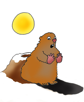 Groundhog clipart shadow. Free cliparts download clip
