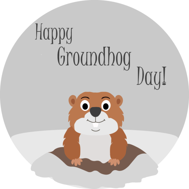 Groundhog clipart shadow. Day prediction winter to