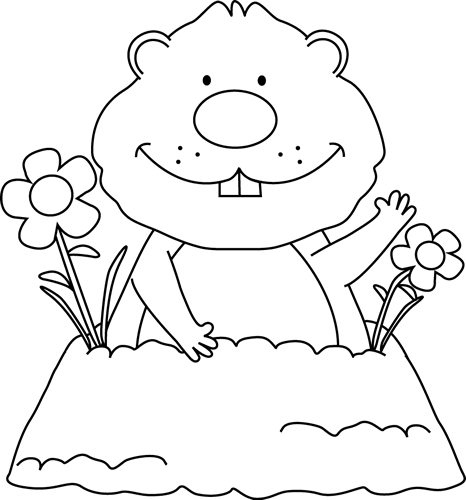 Groundhog clipart spring. Free images download clip