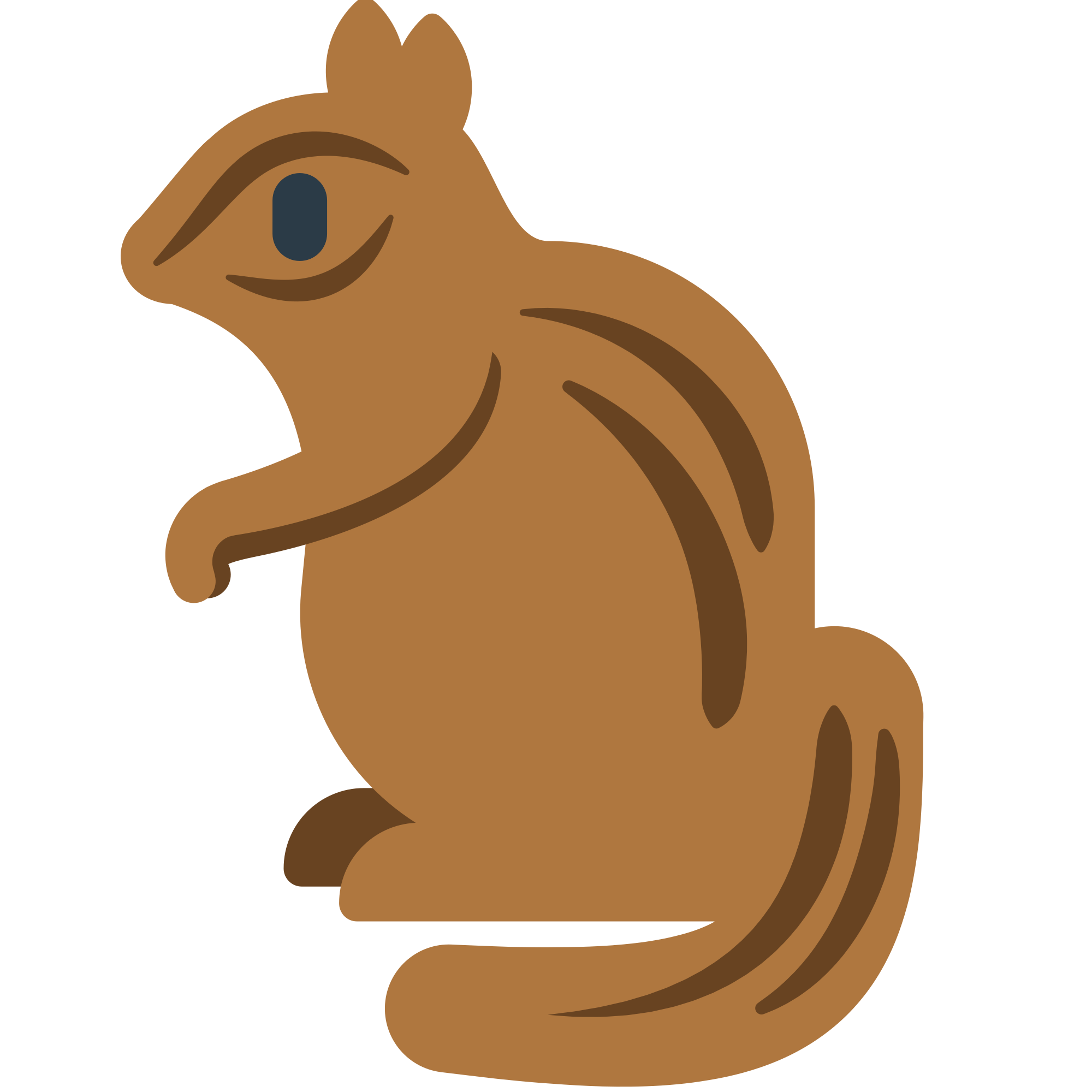 File fxemoji u f. Groundhog clipart svg