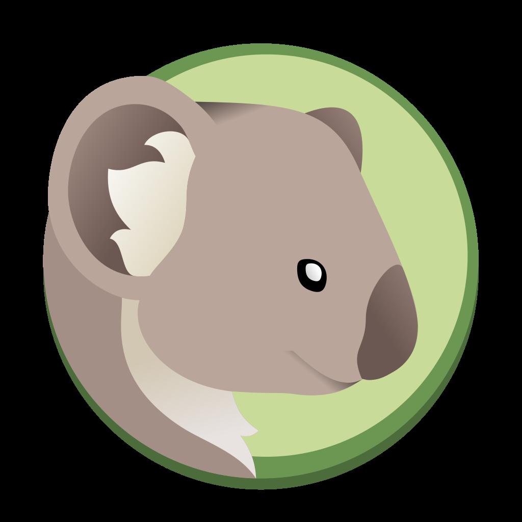 File coala logo wikipedia. Groundhog clipart svg