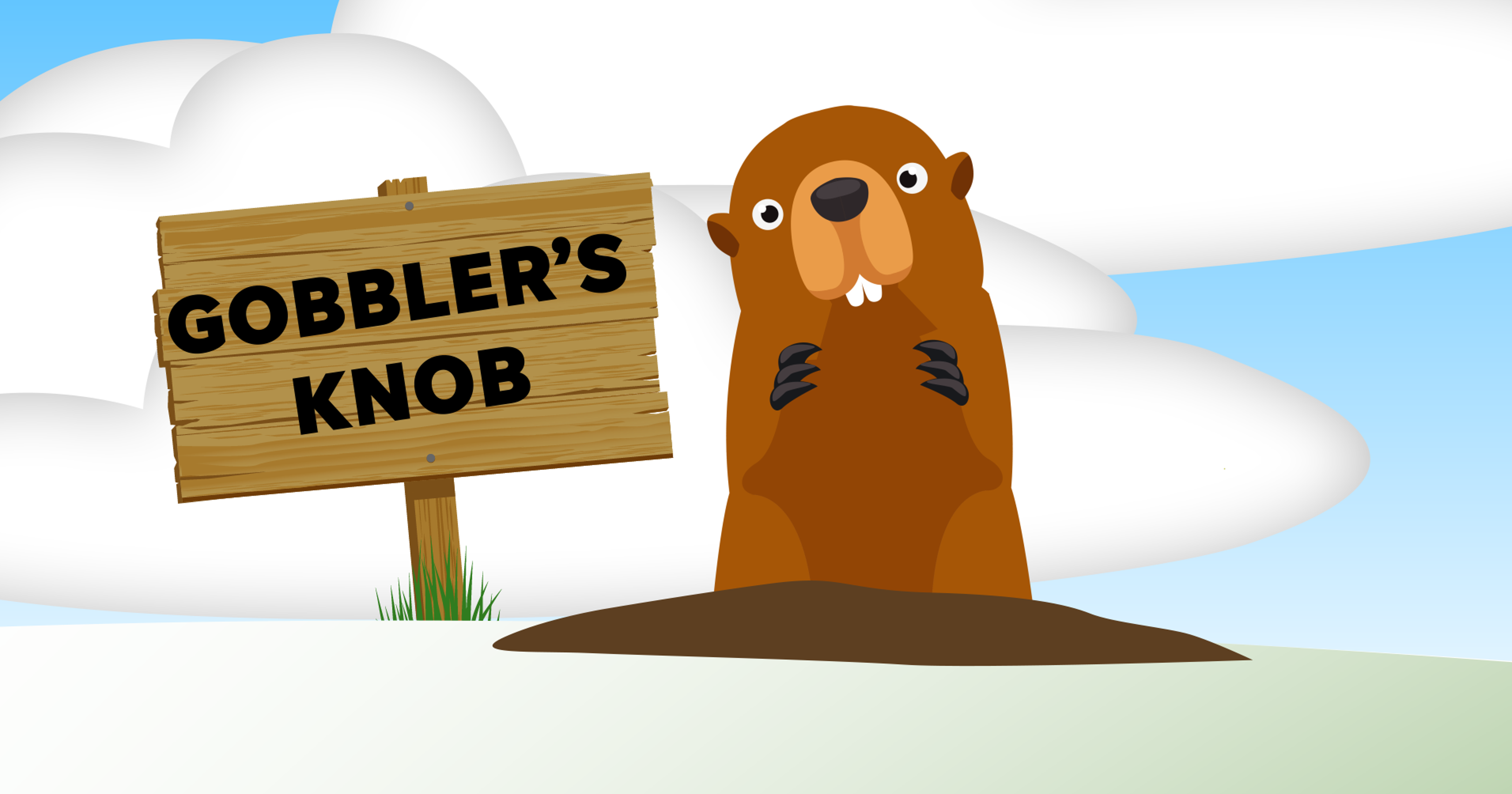 Groundhog clipart tomorrow. Day phil almost always