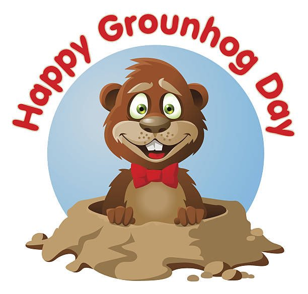 Groundhog clipart tomorrow. Earlyspringplease hashtag on twitter