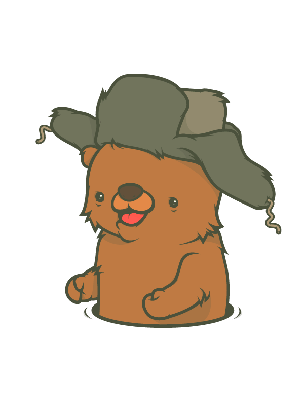 Groundhog clipart top hat. The marazmo my blue