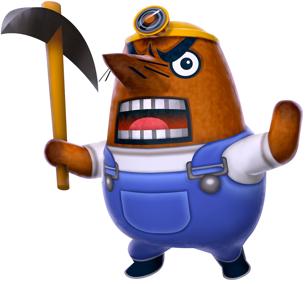 Yelling clipart come one come all. Resetti animal crossing wiki