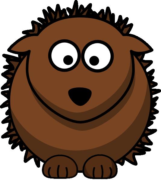 Hedgehog clip art panda. Groundhog clipart vector