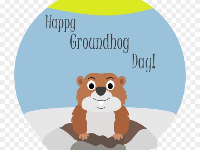Groundhog clipart winter. Free download clip art