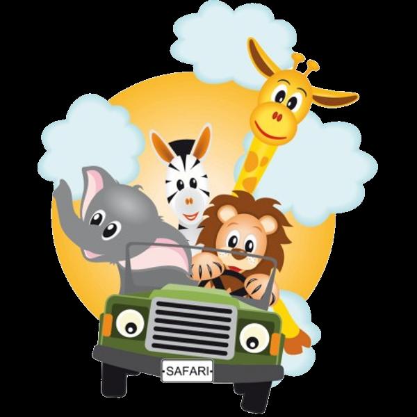 Animals clip art bay. Group clipart cartoon