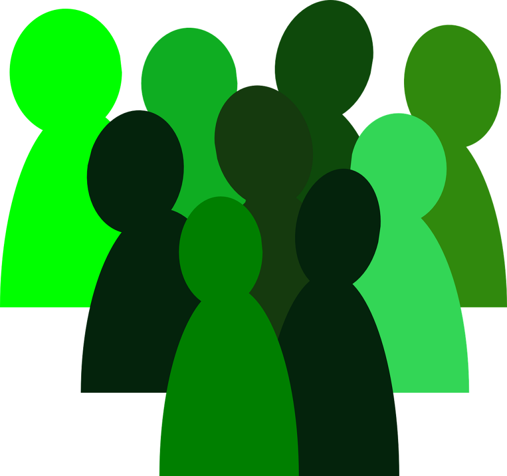 Coc network helping small. Group clipart community group