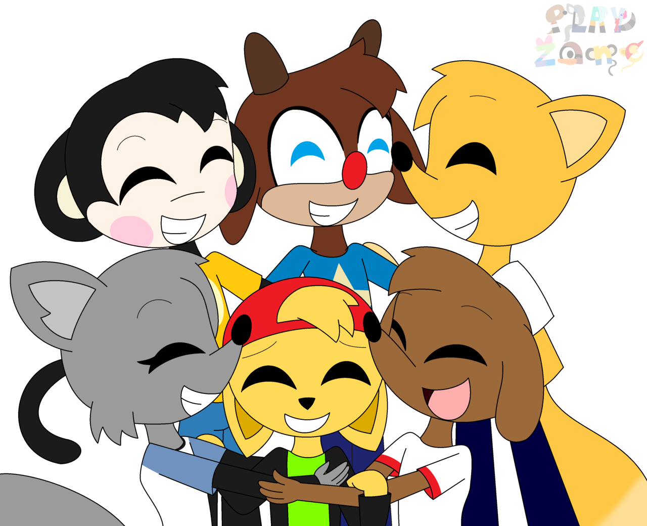 Hug by aldin on. Group clipart different group