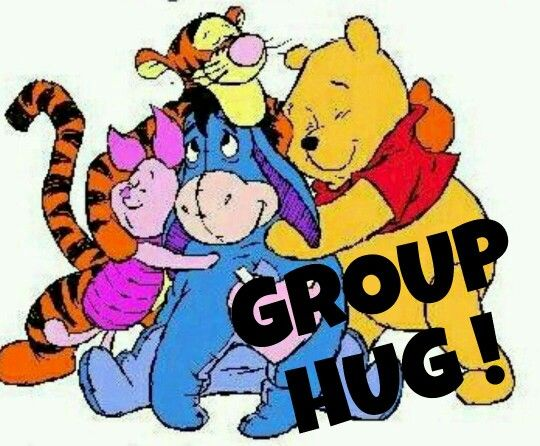 Free group hugs cliparts. Hugging clipart work