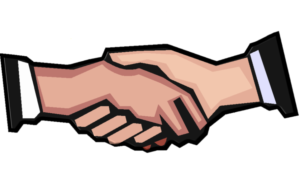 Handshake clipart group. Singapore luye medical acquires