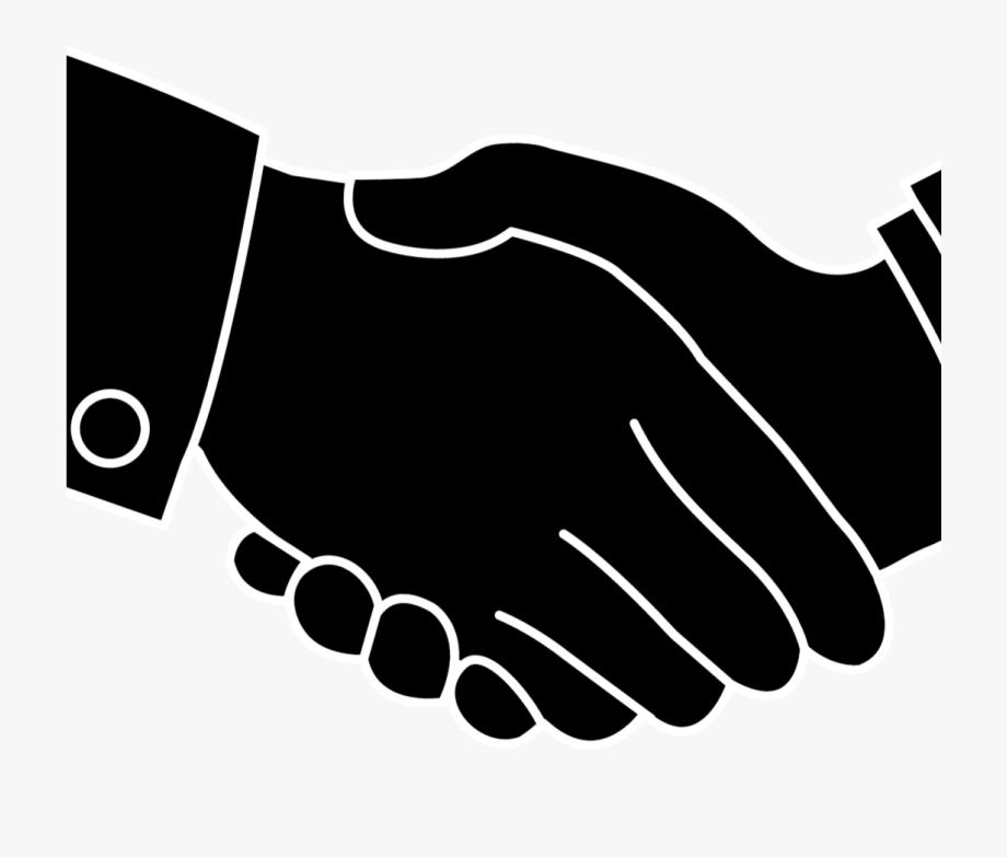 Shake hand logo png. Handshake clipart group