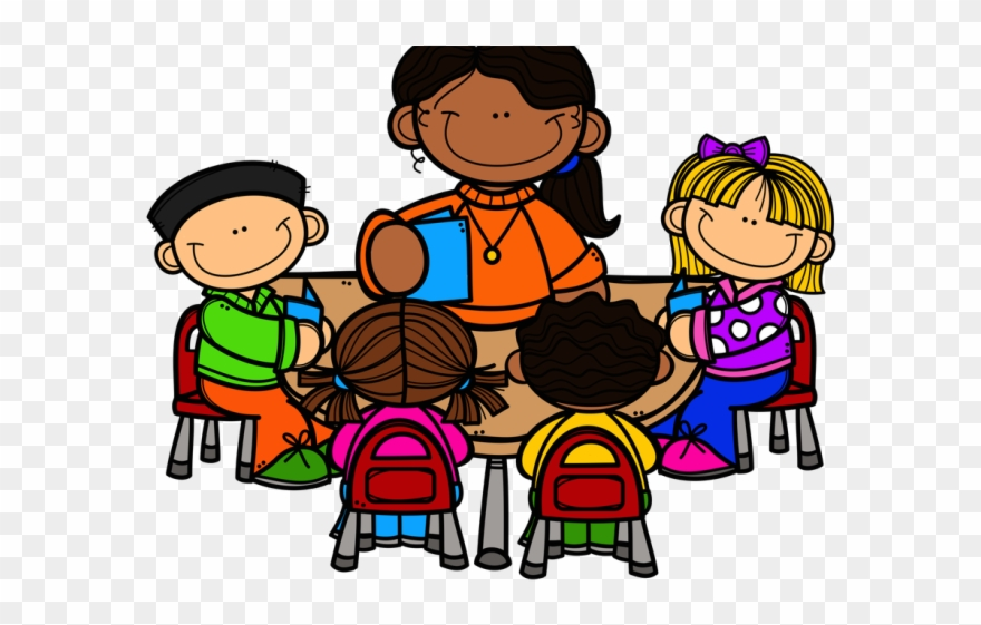 Working clipart teacher. Group of teachers with