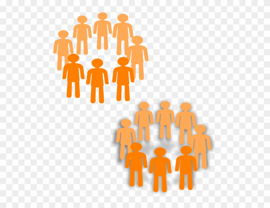 Group clipart two. Png freeuse stock groups
