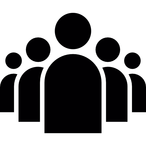 Group icon png. Of people in a