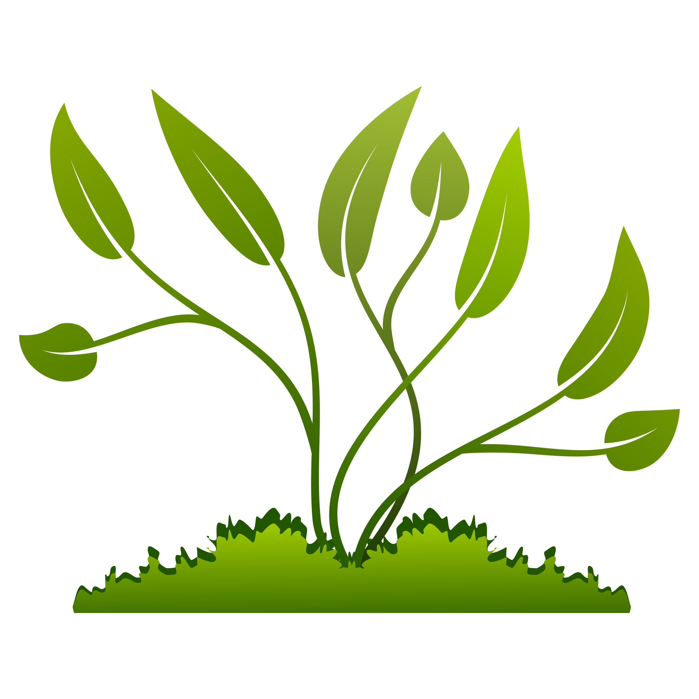 collection of grow. Plants clipart baby