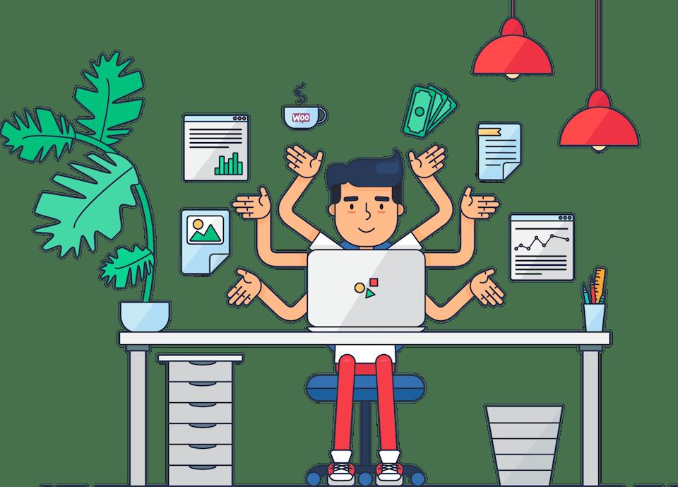 Woocommerce smart plugin batch. Manager clipart shop manager
