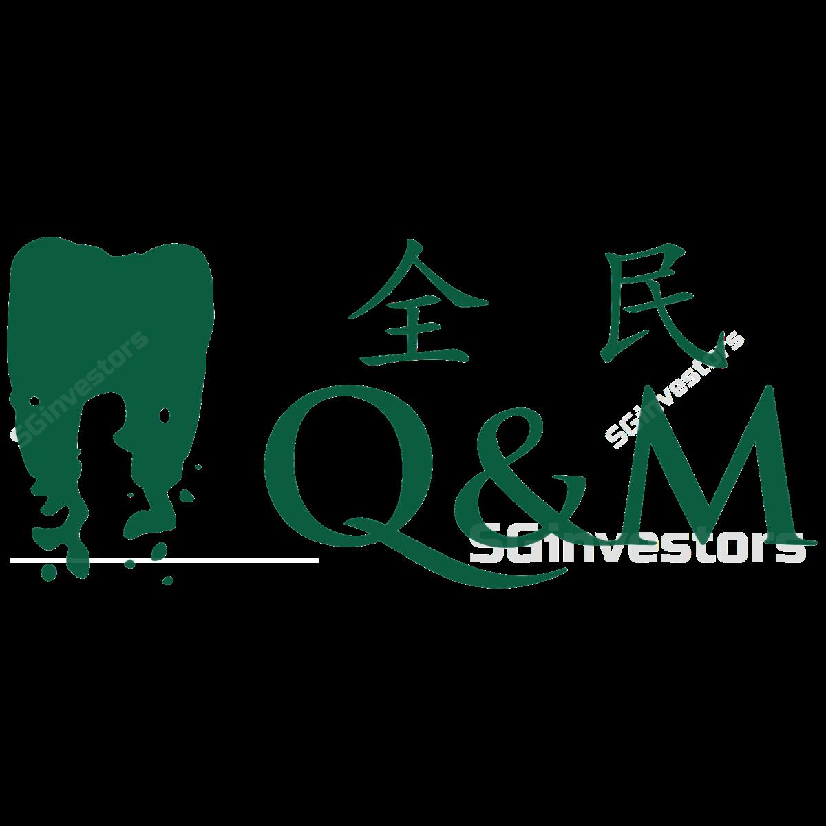 Q m dental group. Growth clipart raising the bar