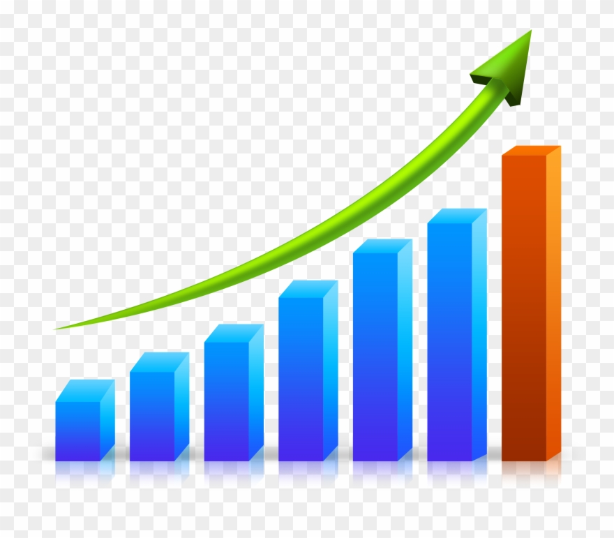 Png download image clip. Growth clipart stock graph