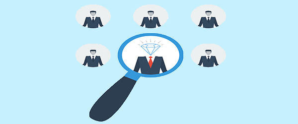 Finding the perfect successor. Growth clipart succession planning